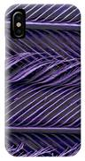 Sem Of Common Grackle Feather IPhone Case