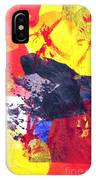 Semi-abstract Collage IPhone Case