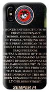 Semper Fi To The 1st Man Down In Iraqi Freedom Plaque IPhone Case