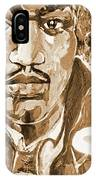 Sepia Jimi IPhone Case