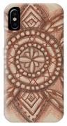 Sepia Zen 2 IPhone Case
