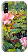 September Roses IPhone Case