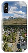 September Skies Over Crested Butte IPhone Case