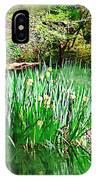 Serene Iris IPhone Case