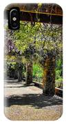 Serene Walkway  IPhone Case