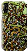 Serpent N Thorns IPhone Case
