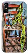 Set With Caution IPhone Case