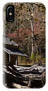 Settlers Cabin IPhone Case