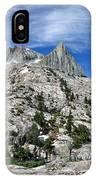 Seven Gables Over Seven Gables Lakes - Sierra IPhone Case