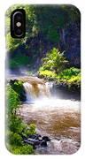 Seven Sacred Pools Maui IPhone Case