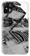 Seville - Giralda In Black And White IPhone Case