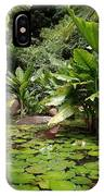 Seychelles Islands Pond IPhone Case