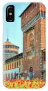 Sforza Castle Milan Italy IPhone Case
