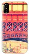 Shabby Chic Eiffel Tower Paris IPhone Case