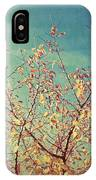 Shades Of Fall IPhone Case