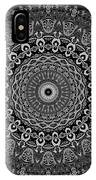 Shades Of Gray No. 6 IPhone Case