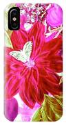 Shades Of Pink Flowers IPhone Case