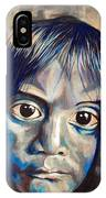 Shades Of Why, Sad Child Painting IPhone Case