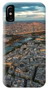 Shadow Of The Eiffel Tower IPhone Case