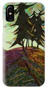 Shadow Of The Evening IPhone Case