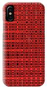 Shadow On The Path Abstract IPhone Case