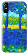Shadow Trees IPhone Case