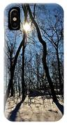 Shadows And Silhouettes IPhone Case
