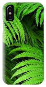 Shadowy Fern IPhone Case