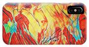 Shadrach, Meshach And Abednego In The Fire With Jesus IPhone Case