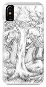 Shady Forest Of Trees IPhone Case