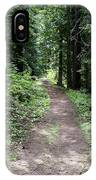 Shady Grove Path IPhone Case