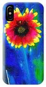 Shaggy Moon For A Shaggy Flower IPhone Case