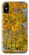 Shaker Fall Walk IPhone Case
