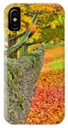 Shaker Stone Fence 3 IPhone Case