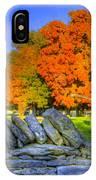 Shaker Stone Fence 7 IPhone Case