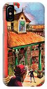 Shakespeare Performing At The Globe Theater IPhone Case