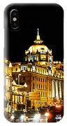 Shanghai City 1 IPhone Case
