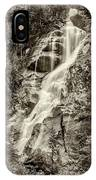 Shannon Falls - Bw IPhone Case