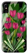 Sharp Blades Of Tulips  IPhone Case