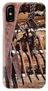 Sharp Rusty Objects IPhone Case