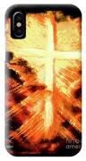 Light Shattering Darkness IPhone Case