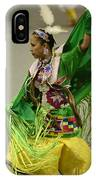 Pow Wow Shawl Dancer 3 IPhone Case