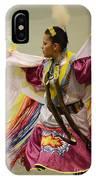 Pow Wow Shawl Dancer 4 IPhone Case