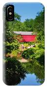 Sheards Mill Bridge - Nockamixon Pa IPhone Case