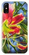 Sheherazade Lilies 1 IPhone Case