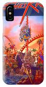 Sheikra Ride Poster 3 IPhone Case