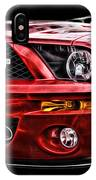 Shelby On Fire IPhone Case