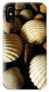 Shell Art - D IPhone Case