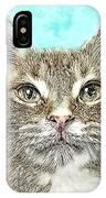 Shelter Cat Fantasy Art IPhone Case