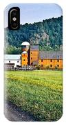Shenandoah Valley Farm IPhone Case